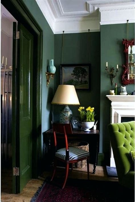 dark green room a room for living room decorating ideas room and living