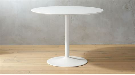 odyssey dining table odyssey white tulip dining table cb2