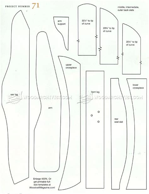 adirondack chair templates classic adirondack chair plans woodarchivist