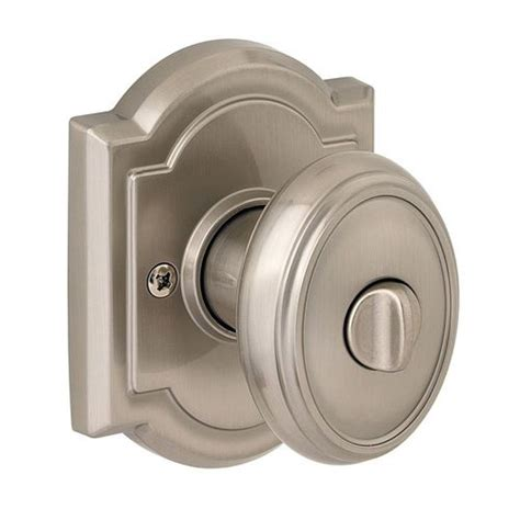 baldwin carnaby satin nickel egg turn lock privacy door