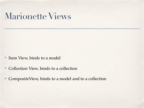 marionette layout view events backbone marionette introduction