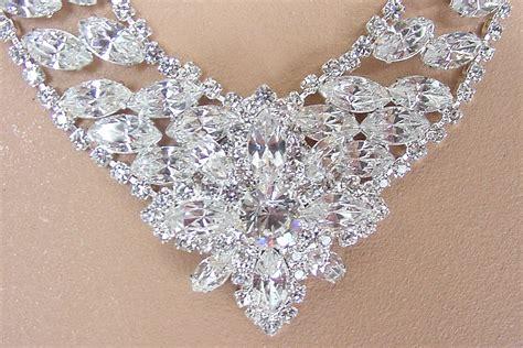 how to make rhinestone jewelry swarovski austrian rhinestone necklace and