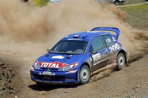 peugeot 206 rally peugeot 206 wrc rally car wrc cars pinterest rally