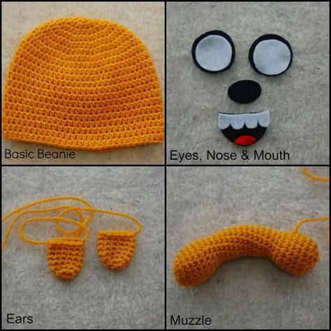 dog pattern vans free crochet jake the dog hat handwerk van alle aart