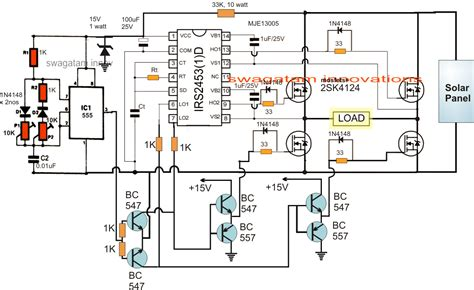 solar inverter circuit for 1 5 ton ac