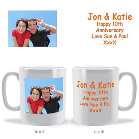 photo and text mug