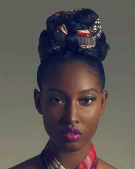 Coiffure Afro Chignon 28 Images Chignon Mariage Afro