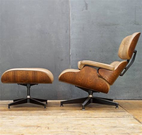 eames 670 671 rosewood lounge chair and ottoman