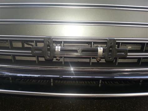 audi q7 front license plate holder front license plate audiworld forums