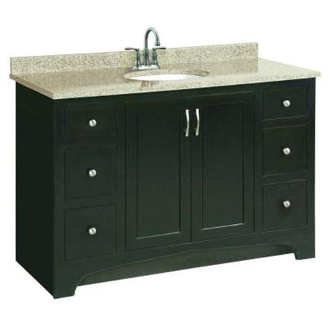 unassembled bathroom vanity cabinets design house ventura 48 in w x 21 in d unassembled vanity cabinet only in espresso