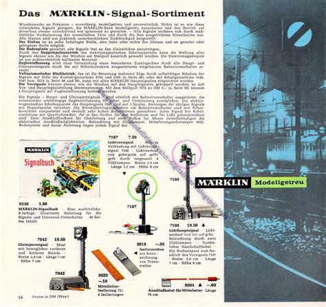 le anschliesen meine modelleisenbahn digitalisiert m 228 rklin katalog 1964