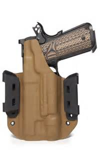 custom kydex holster for 1911 with light practical