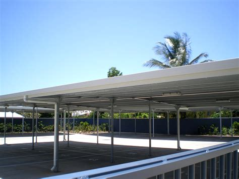 Single Car Garages Flat Roof Carport Customise Size Amp Colours Fair Dinkum