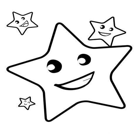 imagenes para colorear estrellas dibujos de estrellas para colorear pintar e imprimir
