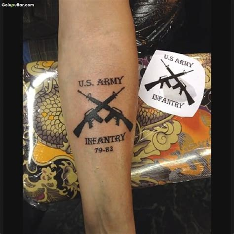 infantry tattoo army infantry tattoos www pixshark images