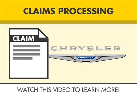 chrysler warranty claims processing jlwarranty