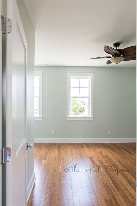 walls sherwin williams sea salt sw 6024 silvery green floors strand bamboo from costco