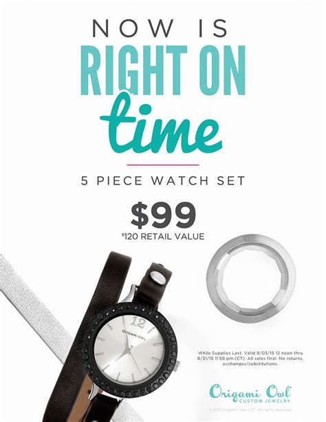Origami Special - it s about time the origami owl is here charms