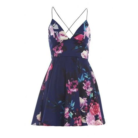 Yuana Flowery Flare Mini Dress best 25 flare dress ideas on white dress