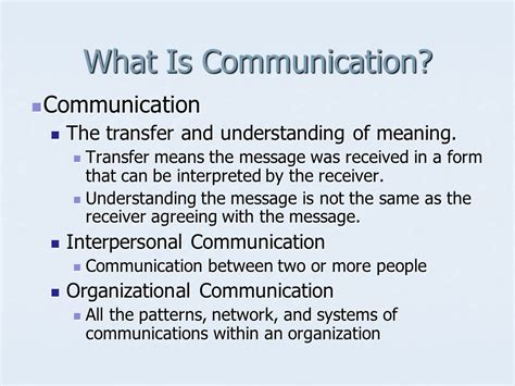 patterns of business communication in an organization communication information technology ppt video online