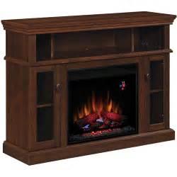chimneyfree media electric fireplace midnight cherry