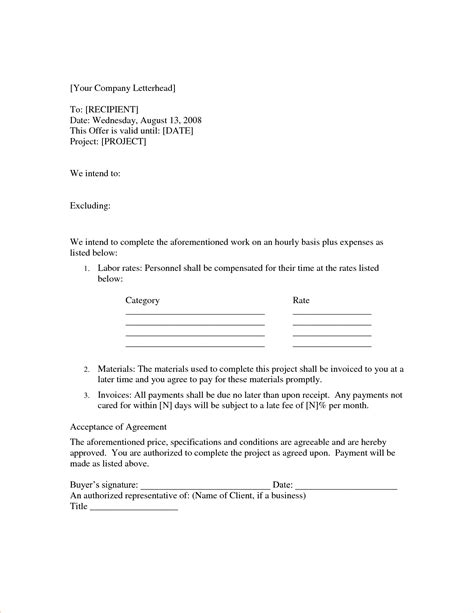 time and materials contract template 4 time and