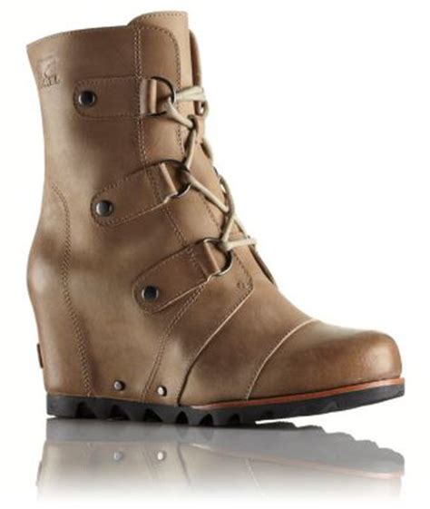 sorel women s joan of arctic wedge mid boot shoes post