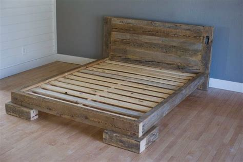 cheap wooden beds pallet double bed