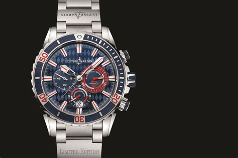 Ulysse Nardi high efficiency ulysse nardin diver chronograph monaco