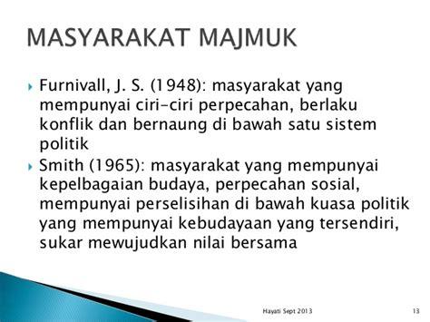 Sistom Politik 1965 Original konsep asas hubungan etnik