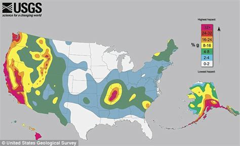 america earthquake map earthquake map of america that will make you think again