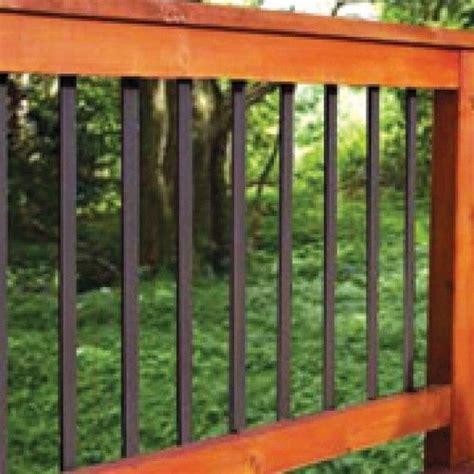 Black Metal Deck Balusters 20 Best Images About Deck Railings On Metal