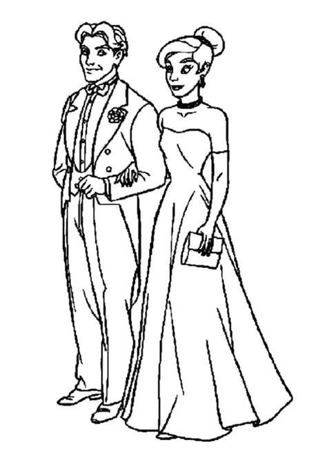 coloring book pages for wedding married pictures cliparts co