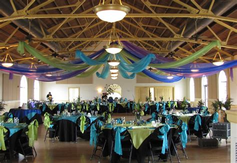 party people event decorating company peacock wedding