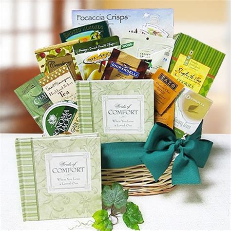 Comfort Gift Basket by Expressions Of Comfort Sympathy Gift Basket By