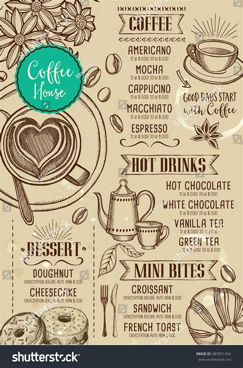 banner design coffee shop restaurant menu stock vector 699560560 coffee restaurant brochure vector coffee shop stock vector