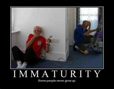 Funny Old People Meme - immaturity some people never grow up