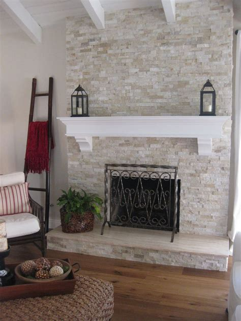refacing brick fireplace with ceramic tile charming refacing a fireplace with tile images ideas