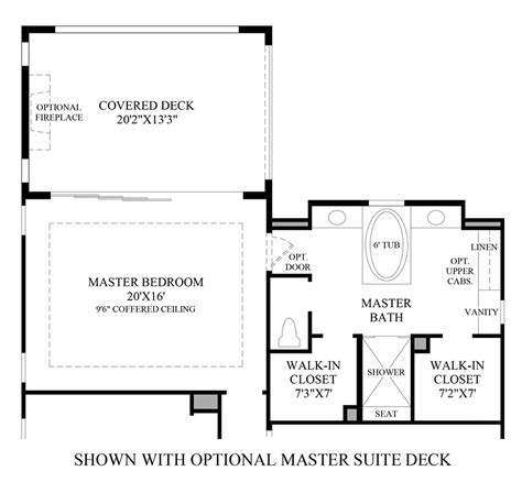 Master Floor Plans toll brothers at robertson ranch the vistas the
