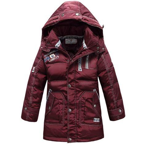 Coat Musim Dingin Luaran Baju Hangat Winter Wool Furing Anti Angin N merek baru anak laki laki pakaian luar mantel anak anak