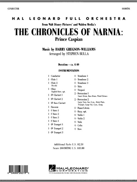 Gregson-Williams - The Chronicles of Narnia: Prince