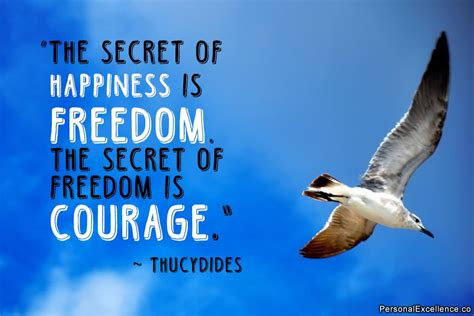 Freedom Is the secret of happiness is freedom the secret of freedom