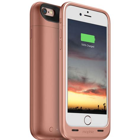 mophie juice pack air for iphone 6 6s gold 3382 b h photo