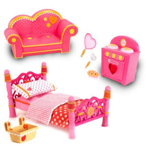 lalaloopsy bedroom furniture lalaloopsy furniture bundle pink from littletikes 60