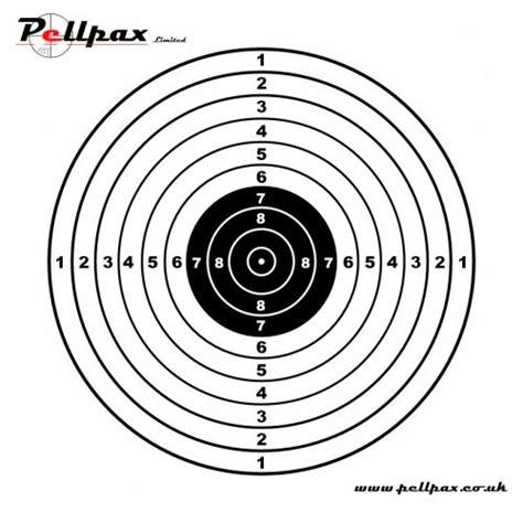 printable marksman targets pistol targets 14x14 cm shooting targets pellpax