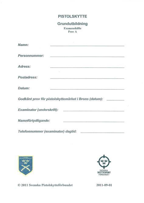Utbildning Svenska Pistolskyttef 246 Rbundet Survey Terms And Conditions Template