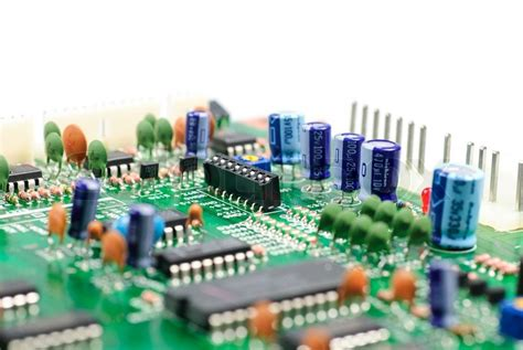 how to make an integrated circuit board closeup of an integrated circuit board great detail stock photo colourbox
