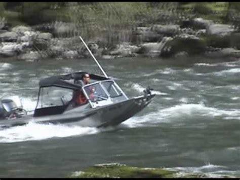 wooldridge outboard jet boats river runner shallow water suzuki 140 outboard jet test