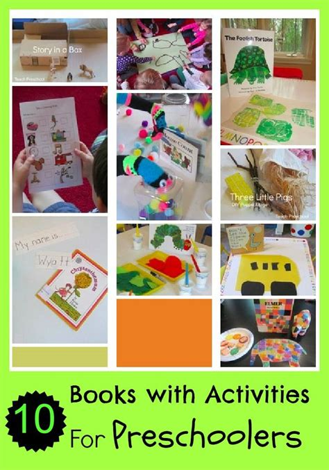 kindergarten activities with books 17 best images about children s books with activities on