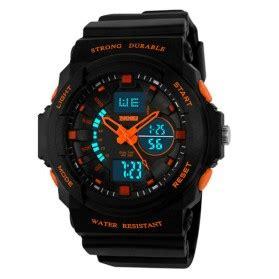 Skmei Jam Tangan Anak 0961b Orange Keren yazole jam tangan analog 318 black black jakartanotebook
